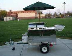 Used Hot Dog Carts Kiosks Vending Beverage Carts For Sale