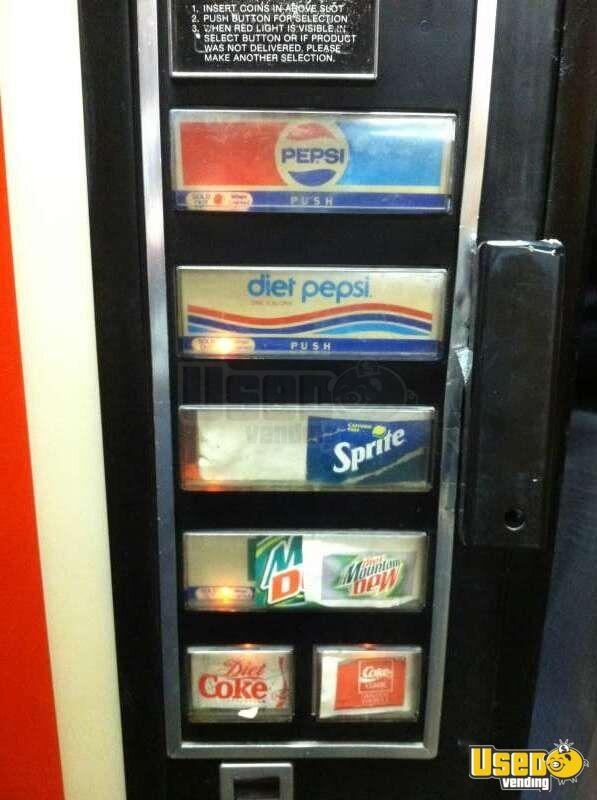 Vintage Dixie Narco 440 Vending Machine Vintage Pepsi