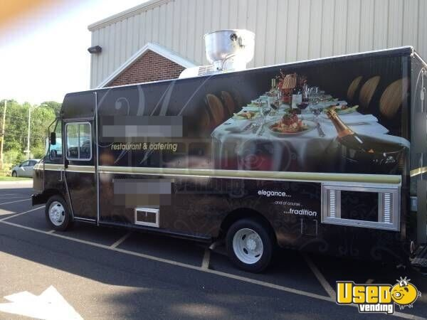 used 2013 ford f59 food truck for sale in new jersey mobile kitchen. Black Bedroom Furniture Sets. Home Design Ideas