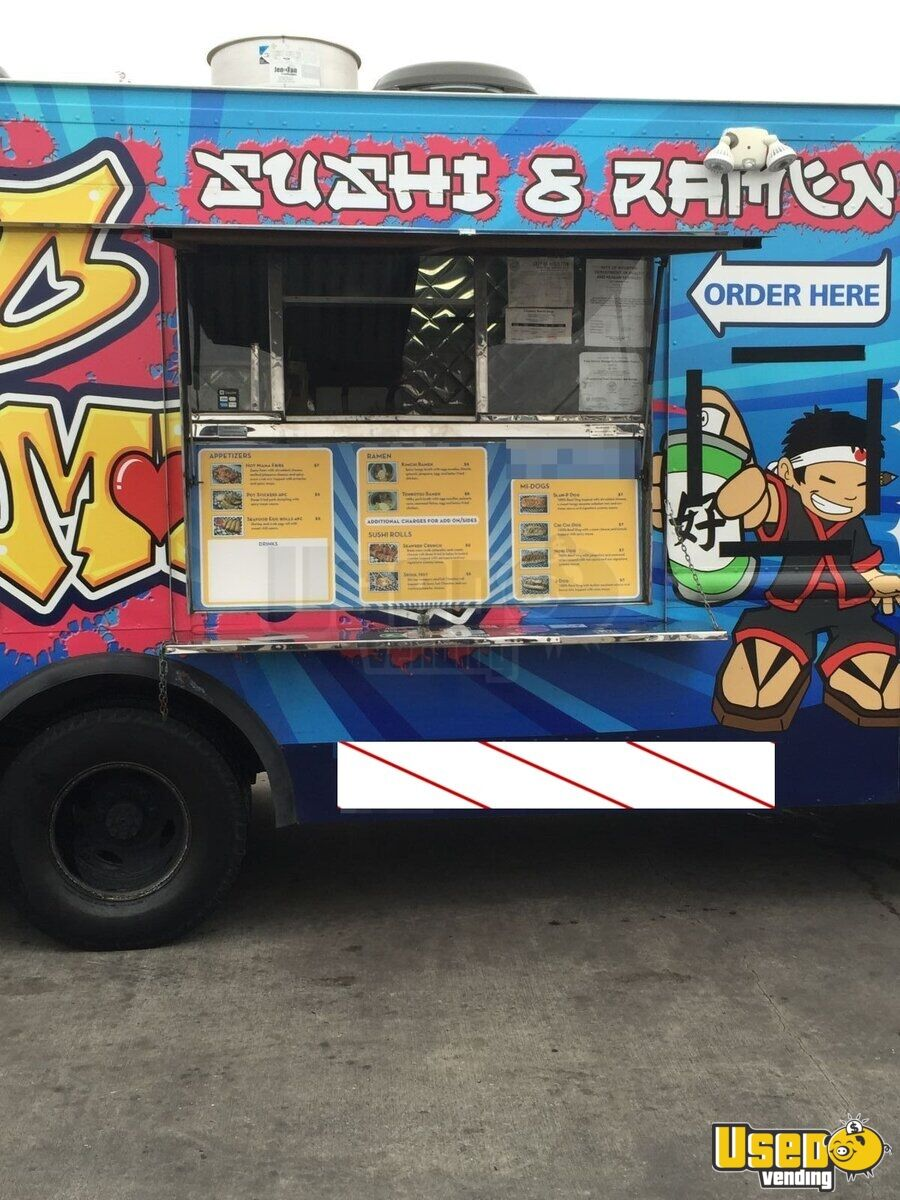 For Sale In Texas Used Chevy P30 Food Truck Mobile Kitchen