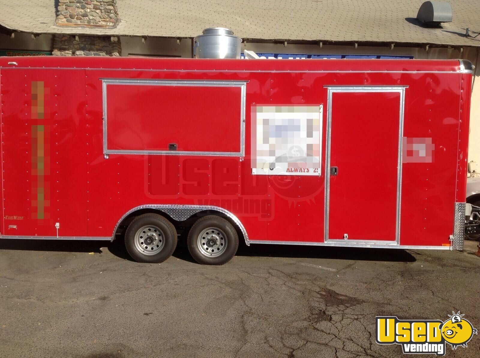 Custom Built Food Trailer Concession Trailer For Sale In