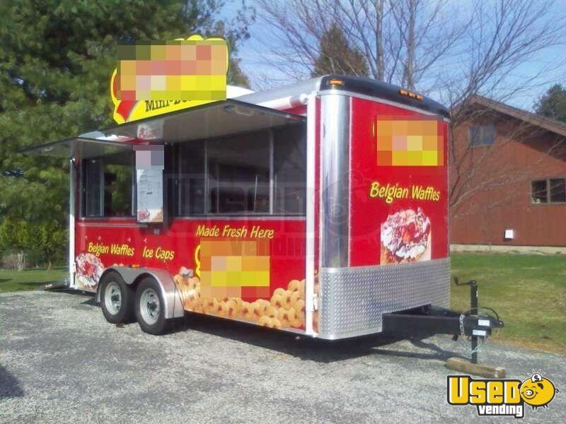 Mini Donut Concession Trailer For Sale In Connecticut