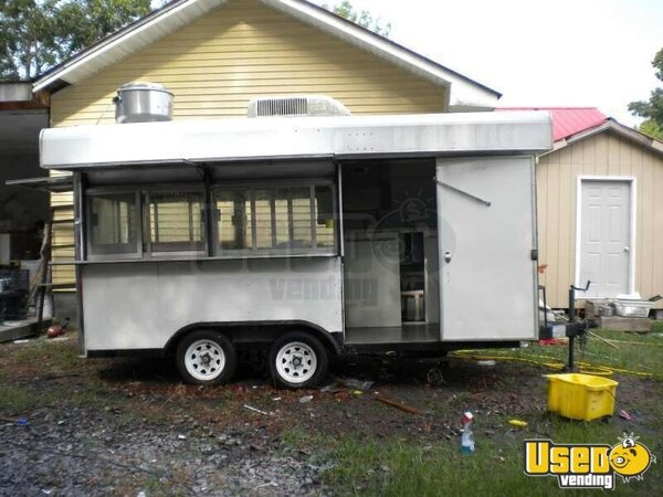 16 X 8 Concession Trailer Mexican Food Trailer 2003