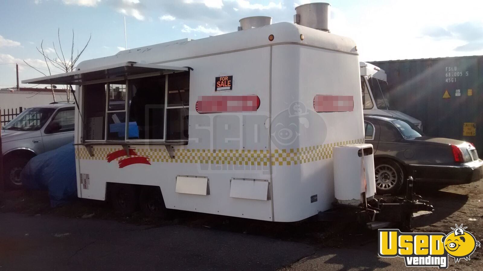 Used Concession Trailer Food Trailer For Sale In