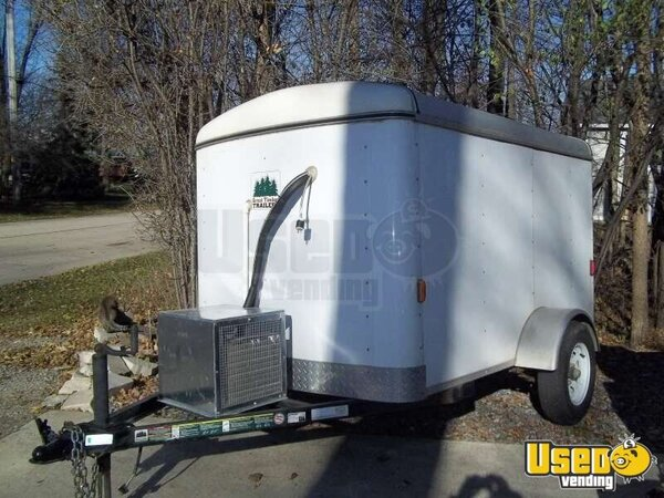 Refrigerated Food Trailer Reefer Unit Trailer Used