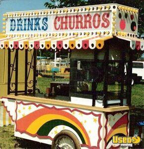 Churro Vending Cart Food Vending Cart Used Fod Cart