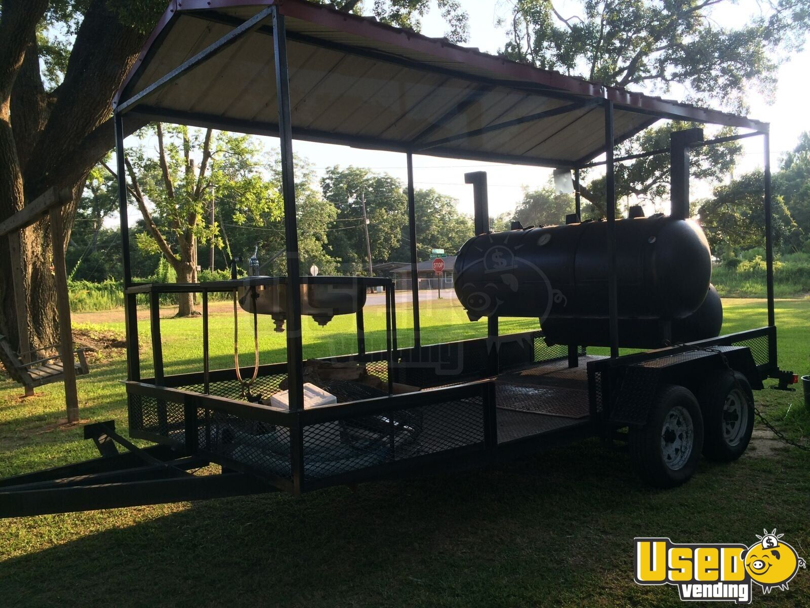 Used 25 Bbq Smoker Trailer For Sale In Mississippi