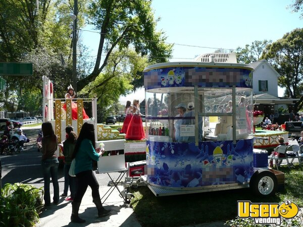 Used Snow Cone Trailer Concession Trailer In Florida For