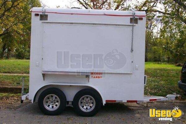 Ice shaved trailer men