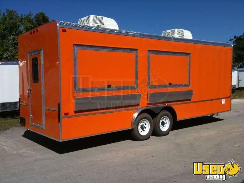 24 Concession Trailer 24 Mobile Kitchen Used Food
