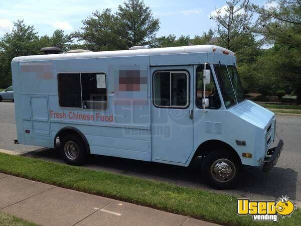 Chevy Step Van Food Truck Chevy Mobile Kitchen
