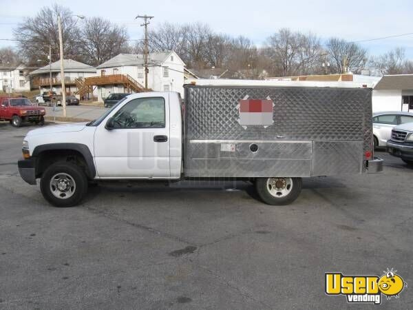 used chevy lunch truck in kansas for sale canteen truck food truck. Black Bedroom Furniture Sets. Home Design Ideas