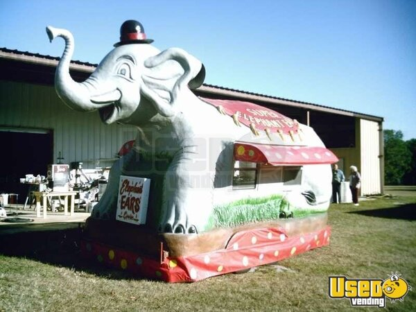 Elephant Concession Stand Circus Concession Trailer 22