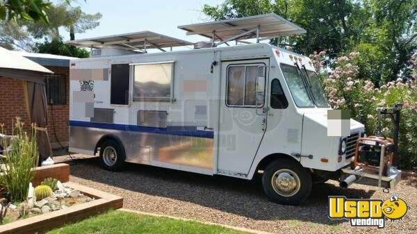 Solar Panel Food Truck For Sale