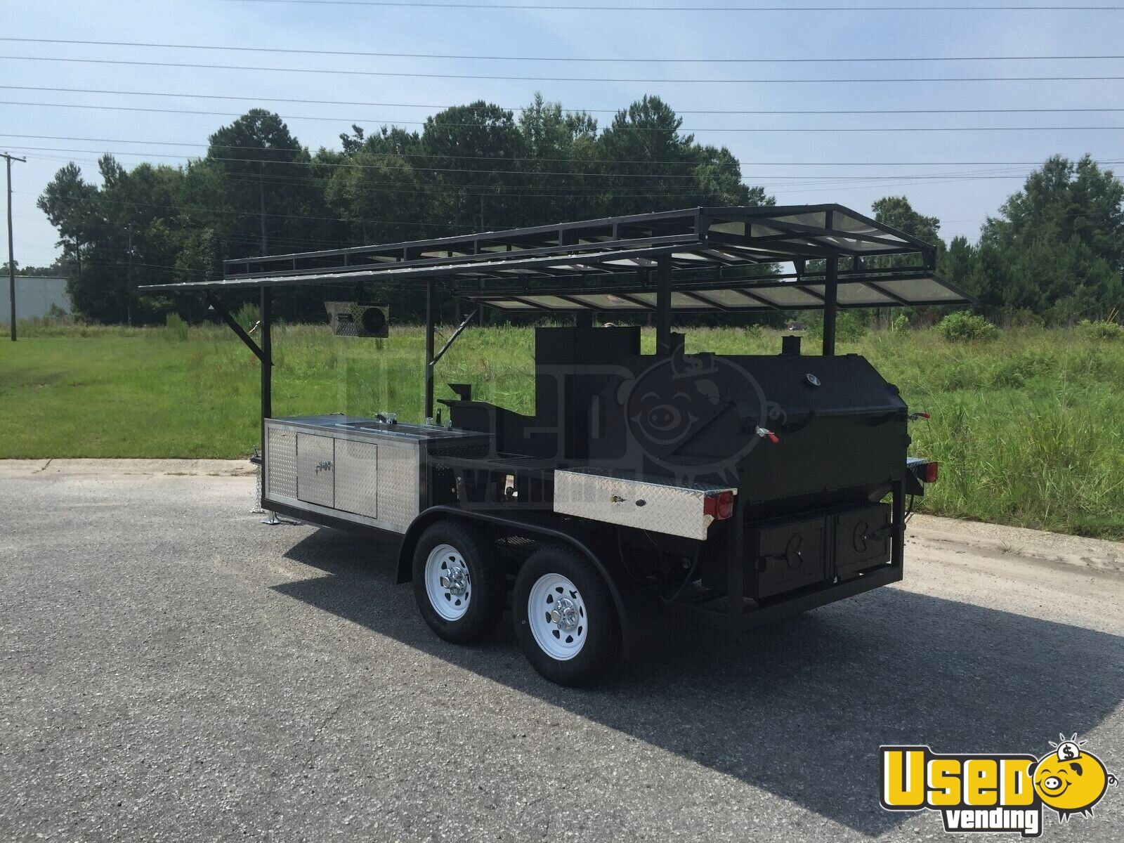 BBQ Concession Trailer   kitchen trailer for Sale in South ...