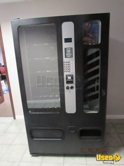Limos For Sale >> Used USI 3155B Snack and Soda Vending Machine | Combo Vending Machine in Michigan for Sale
