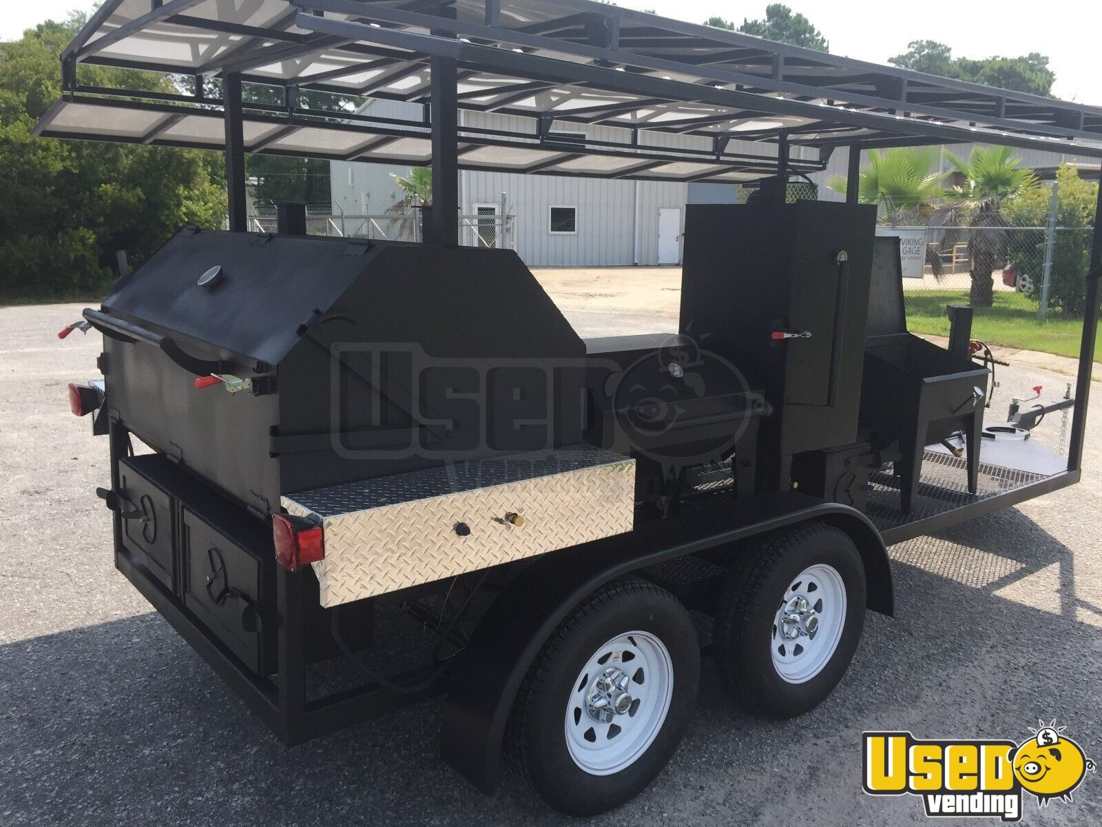 Bbq Concession Trailer Kitchen Trailer For Sale In South