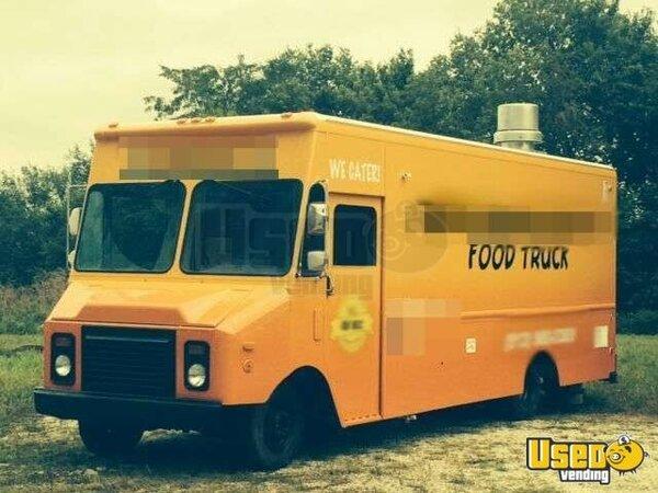 food truck for sale in kansas chevy mobile kitchen. Black Bedroom Furniture Sets. Home Design Ideas