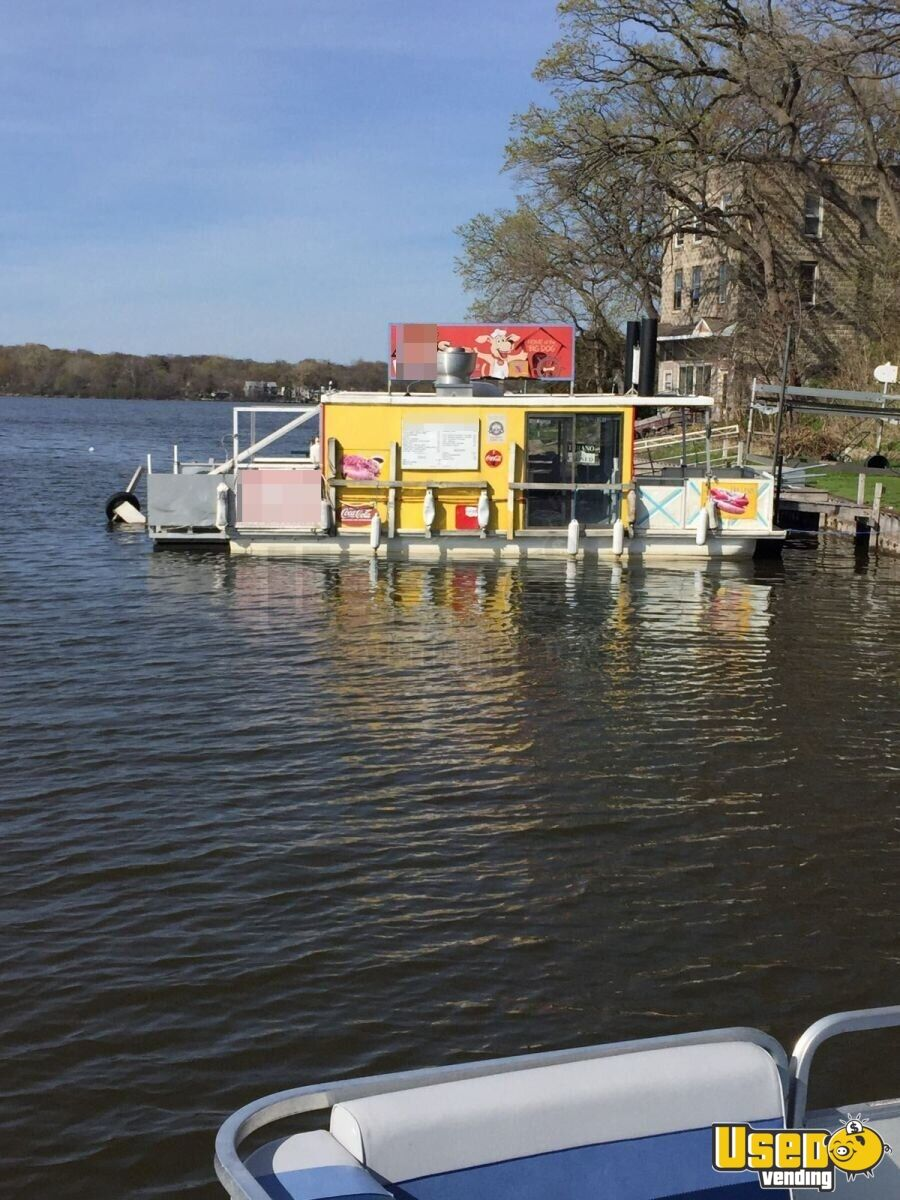 Used Ice Machine >> Turnkey Food Concession BOAT | Floating Restaurant for ...