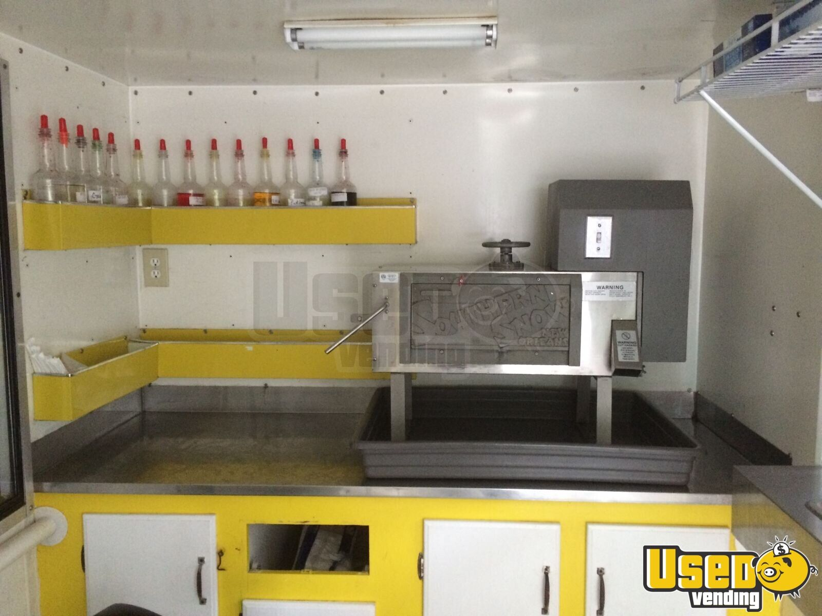 Sno Pro Shaved Ice Snowball Stand Concession Trailer For