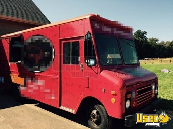 chevy food truck mobile kitchen for sale in wisconsin. Black Bedroom Furniture Sets. Home Design Ideas