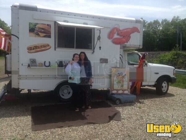 Ford U Haul Food Truck Mobile Kitchen For Sale In Connecticut
