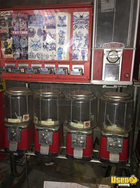 California Lot Of Bulk Vending Machines Used Bulk