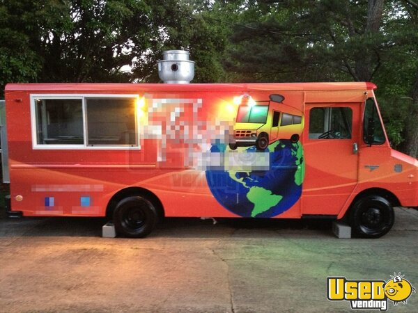 turnkey chevy food truck in georgia for sale tapa truck mobile kitchen. Black Bedroom Furniture Sets. Home Design Ideas