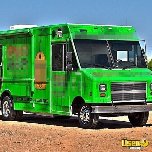 Used Kitchen Equipment Miami: Ford Food Truck Mobile Kitchen