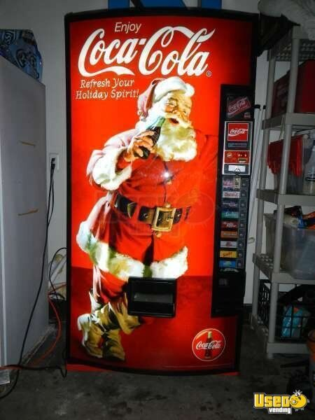 coke vending machine commercial