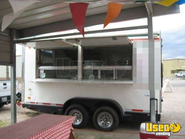 14 Custom Food Concession Catering Trailer Small Mobile